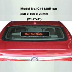 HOT SALE!!!led car window digital display message sign