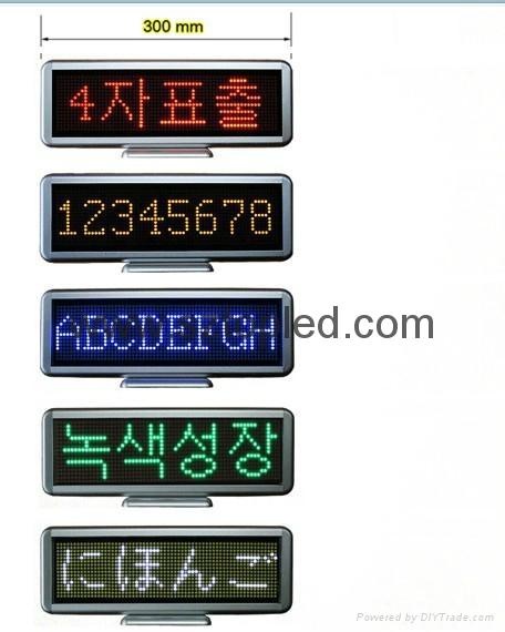 (Direct manufacturer)led mini sign LED message display for shop/super market use 3