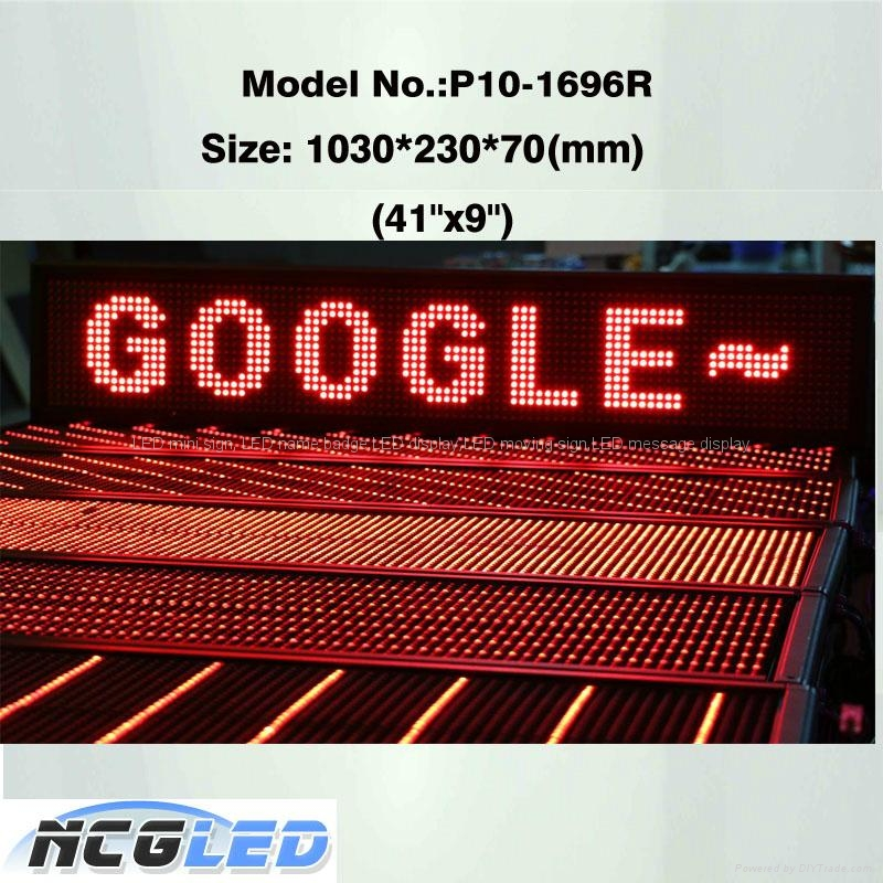High quality  led moving sign for advertising  2