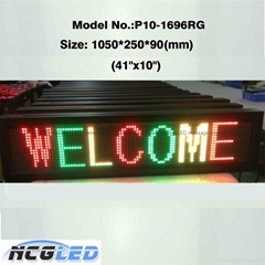 High quality  led moving sign for