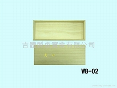 wooden box for beverage