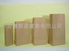 赤牛皮紙袋 / 方型紙袋