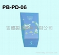paper box for body lotion