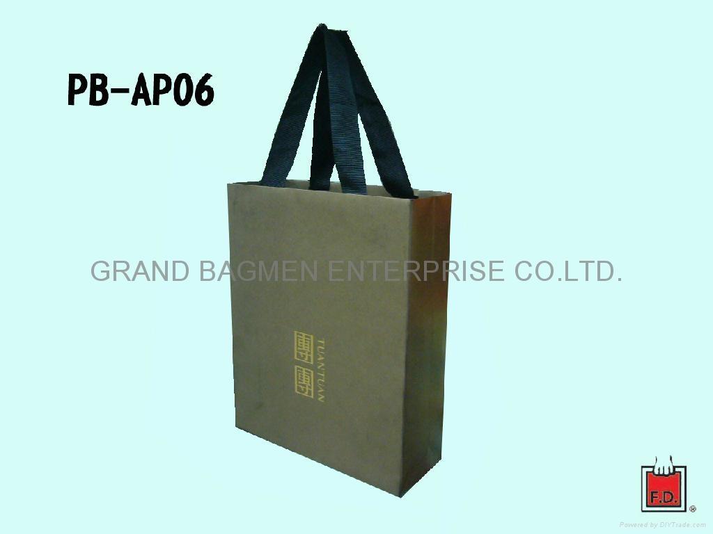 高級藝術紙袋 (團團)