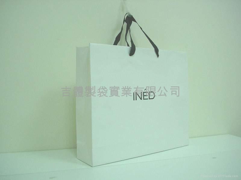 霧P銅版紙袋