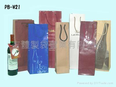 两瓶装酒袋/纸袋