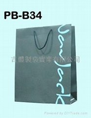 Bleached kraft paper bag