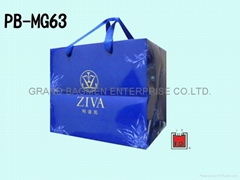 Art paper bag with LOGO hot-foiled