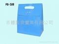 銅版紙造型紙袋 - 腰孔袋