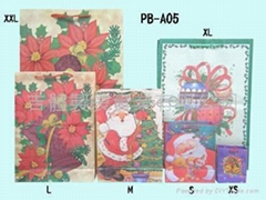 Regular Paper Bags-X' Mas