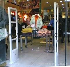 Clothes shop eas rf secu