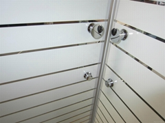 8mm Toughened Glass Shower Enclosure With Slimline Shower Tray