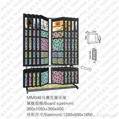 馬賽克展示架MM046