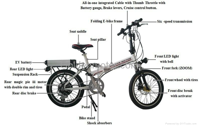 20 u0026 39  u0026 39  folding ebike    motor bike  foldable e-bike