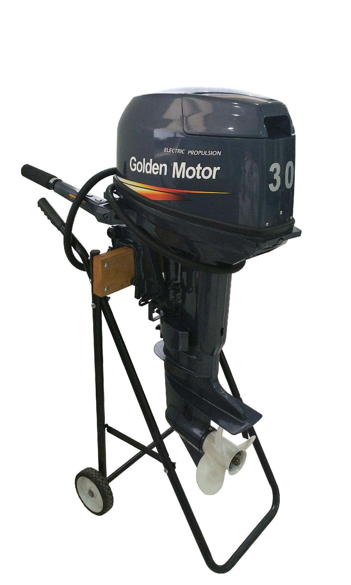 electric outboard motor  4