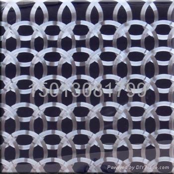 供應不鏽鋼黑鈦鐳射CD紋板 2