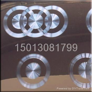 供應不鏽鋼黑鈦鐳射CD紋板 4