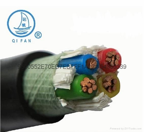 上海起帆低壓交聯聚乙烯絕緣國標電力電纜 1