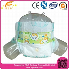 Super absorption baby diapers disposable diapers cheap bulk  in China