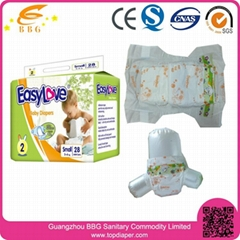 Hot and cheap disposable baby diaper