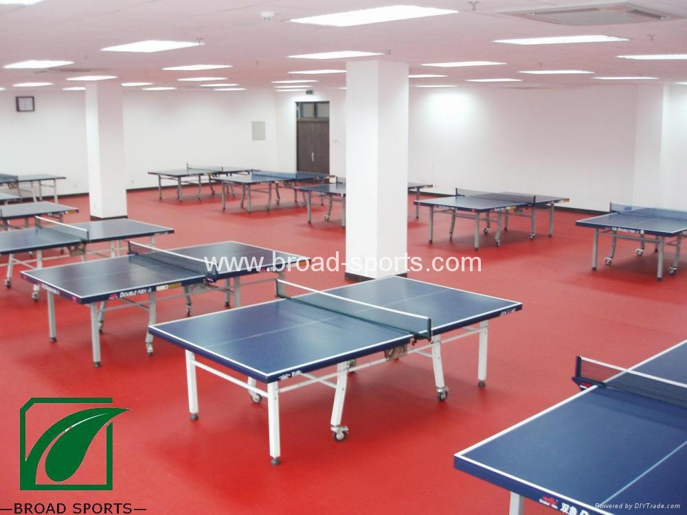 Super Durable Vinly Table Tennis Court Sport Flooring With