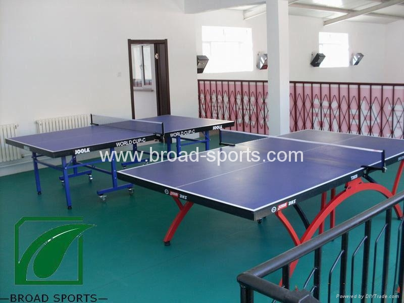 Super Durable Vinly Table Tennis Court Sport Flooring with 4.5mm thickness 5