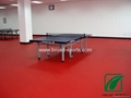 Vinly Table Tennis PVC sports Floor In