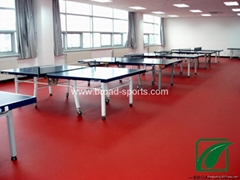 Indoor Vinly Table Tennis sports pvc flooring