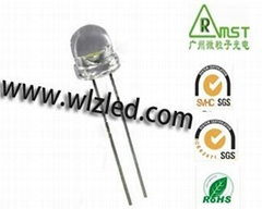 led发光二极管钢盔RGB