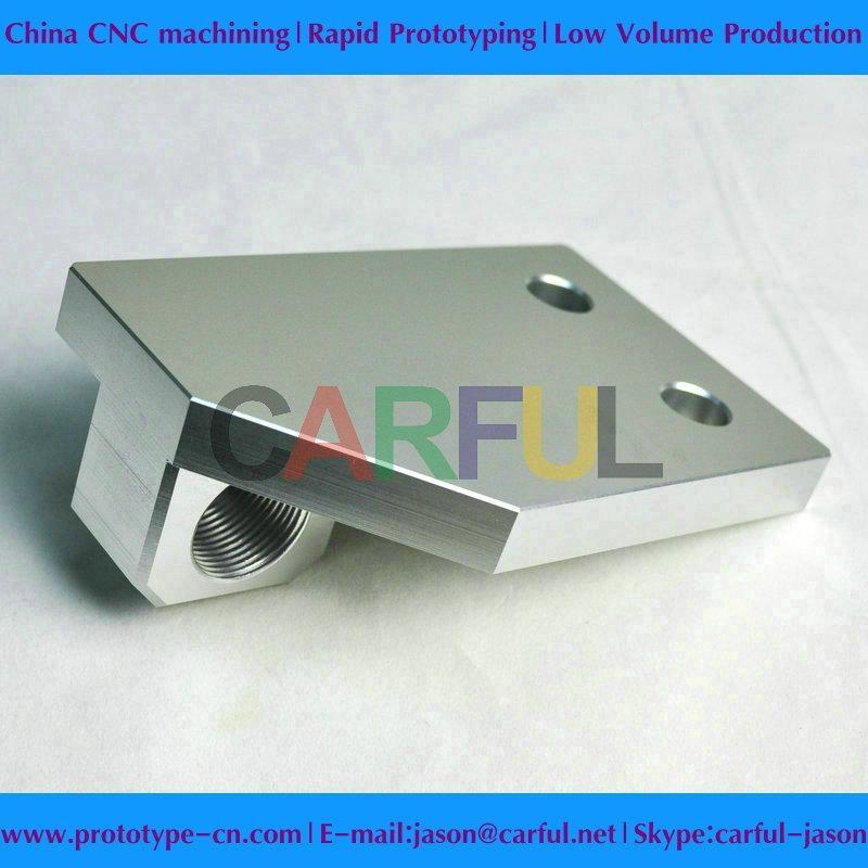 Aluninum CNC machined parts 2