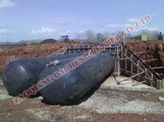 culvert pipe reinforce inflatable rubber airbag mandrel