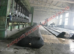 inflatable rubber mandrel for culvert formwork