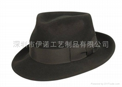 YRWF11001  felt hats  men's felt hats