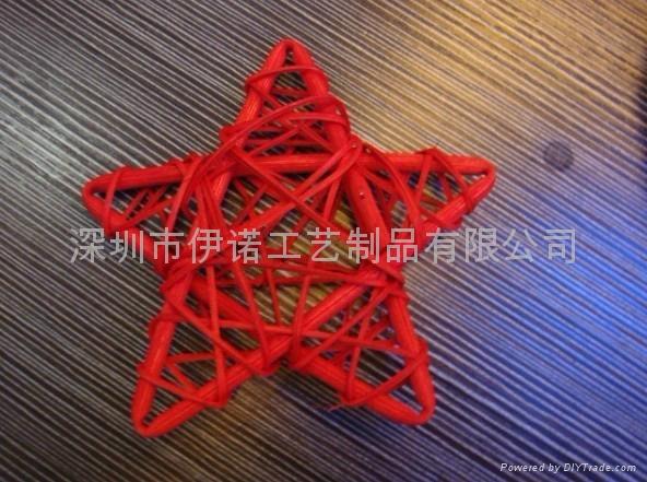 YRGZ12003 圣诞藤球工艺品 2
