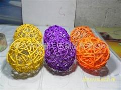 YRGZ12003 聖誕藤球工藝品
