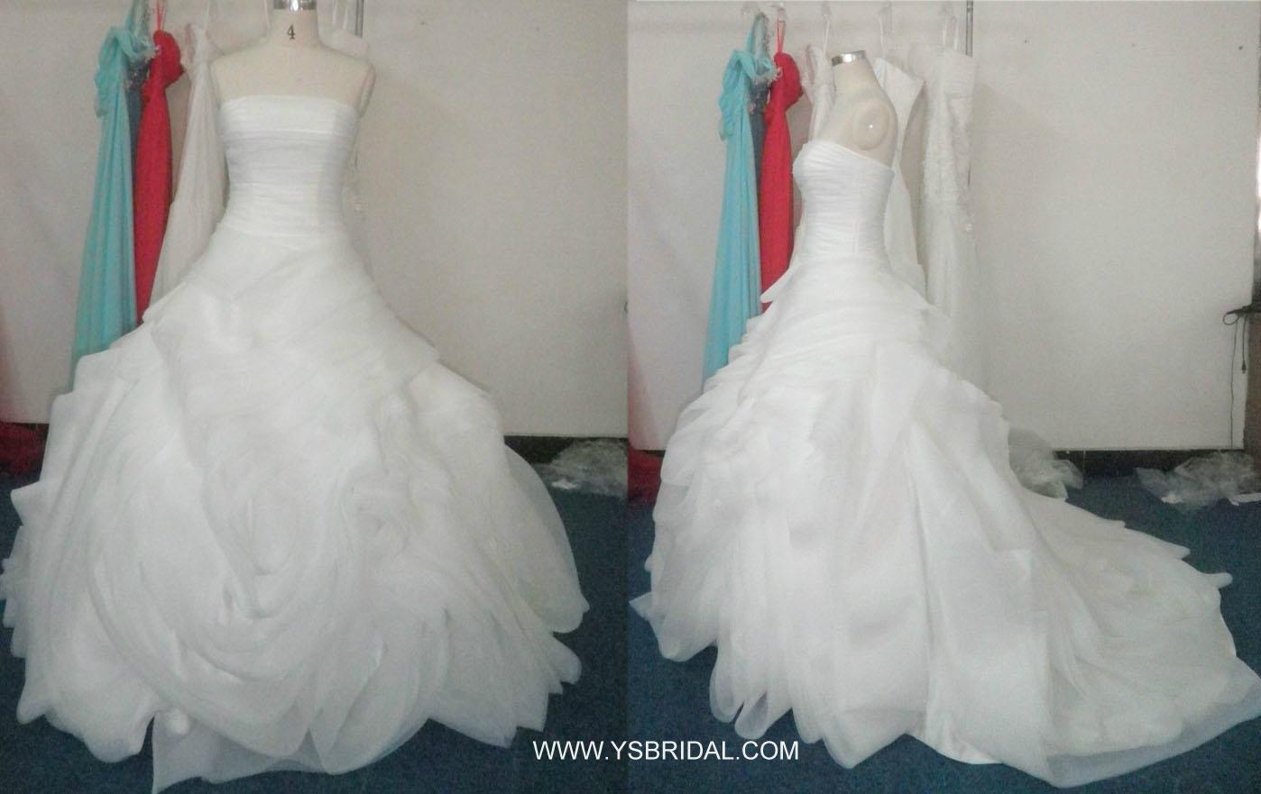 廣州婚紗廠批發高檔婚紗禮服 1