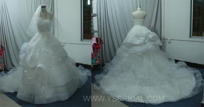 廣州婚紗廠批發高檔婚紗禮服 2