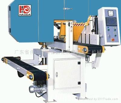 木工机械HD500进口竹型木材开片机 3
