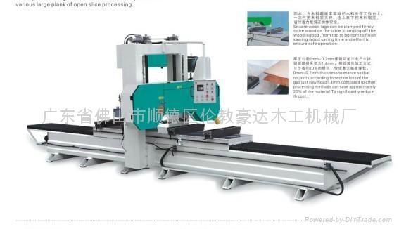 木工機械HD500進口竹型木材開片機 5