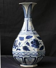 元青花陶瓷摆件花瓶