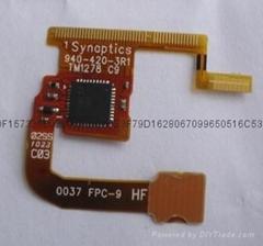 深圳fpc軟板smt 手機排線SMT 背光源led軟板SMT