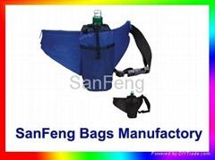 Promotional Water Bottle Holder Fanny Pack Waist Bag