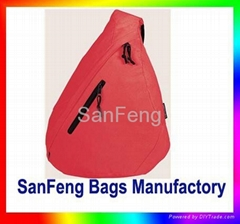 One Strap Bag,Sling Bag,Triangle Bag,Sports Bag