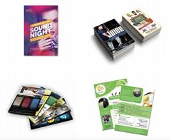 Brochures Tri-fold Leaflets Flyers Envelopes Mailer bags