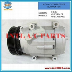 Auto AC COMPRESSOR DOOWON for CHEVROLET 96861884