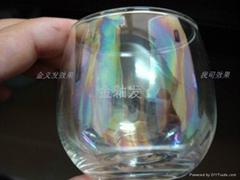 玻璃五彩水
