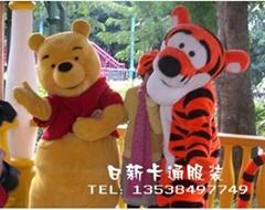 卡通人偶服装维尼熊跳跳虎