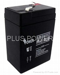 6V4.5AH rechargeable batteries