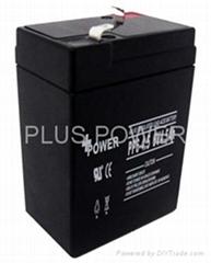 6V4.5AH rechargeable batteries