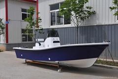 Liya 19feet 50hp fishing boat fiberglass CE imports boat China fiberglass boat